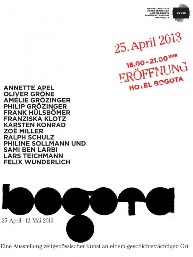 Einladung Bogota